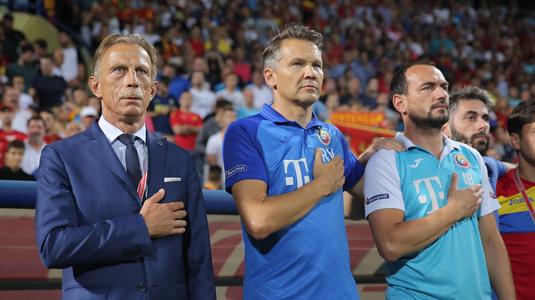 Daum a promis că va învăţa limba română pentru a se înţelege mai bine cu jucătorii naţionalei, însă acest lucru nu s-a mai întâmplat