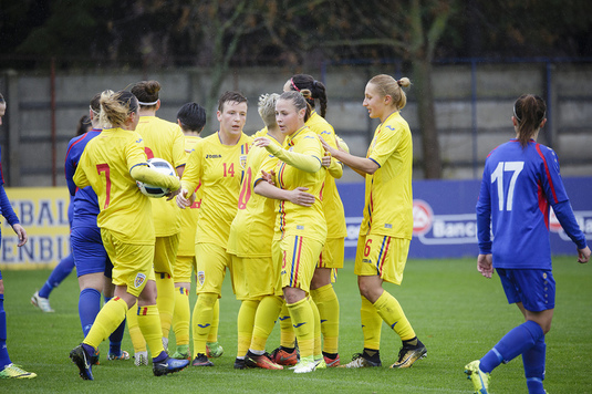 România a învins naţionala Republicii Moldova, scor 3-1, într-un meci din preliminariile CM de fotbal feminin din 2019