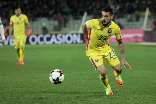 VIDEO | Ăsta e golul anului 2017 la echipa naţională! Stanciu i-a învins pe Stancu, Grozav şi Budescu