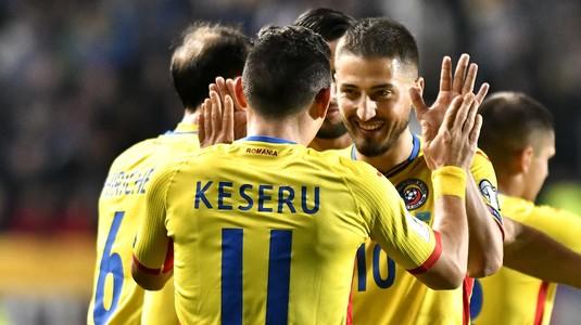 Naţionala României a urcat în clasamentul FIFA. Pe ce loc se clasează la început de 2018 trupa lui Contra!
