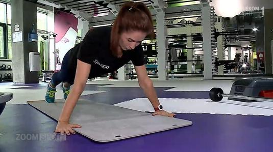 VIDEO | Urmăreşte cea mai nouă ediţie a emisiunii Zoom Sport şi află cum să te menţii în formă de la Sorina, un funcţionar bancar!
