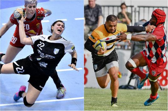 """""""Tot sportul acum"""" nu e doar o lozincă! Telekom Sport transmite, în weekend, cele mai tari meciuri din handbal şi rugby"""