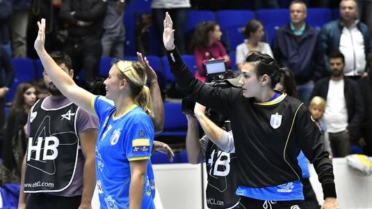 CSM Bucureşti s-a răzbunat pe CSM Bistriţa după înfrângerea din Champions League