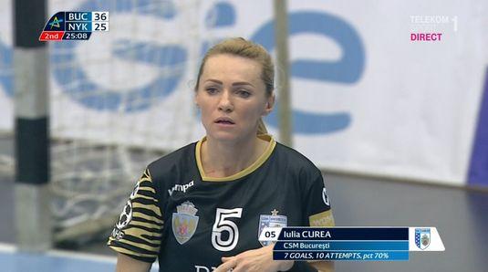 VIDEO | Iulia Curea a marcat golul meciului cu Nykobing! Execuţie superbă