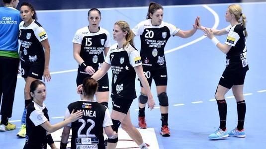 O nouă victorie la scor pentru CSM Bucureşti în Liga Naţională