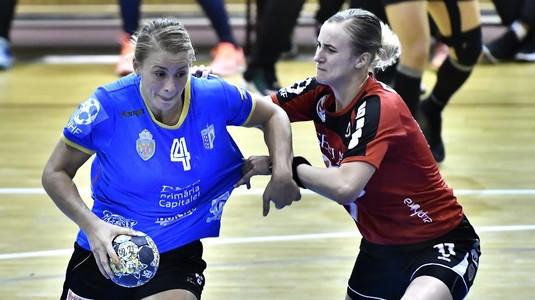 Victorie lejeră pentru CSM Bucureşti în Liga Naţională de handbal feminin