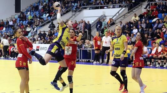 România - Brazilia, scor 24-23, în ultimul meci la Trofeul Carpaţi la handbal feminin, de la Craiova