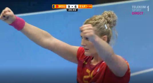 VIDEO | Crina Pintea a reuşit unul dintre cele mai tari goluri de la Campionatul Mondial