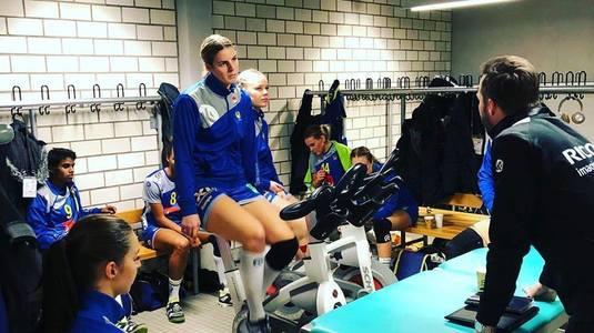 VIDEO DE COLECŢIE. Isabelle Gullden a făcut senzaţie în vestiarul Suediei la Mondialul de handbal
