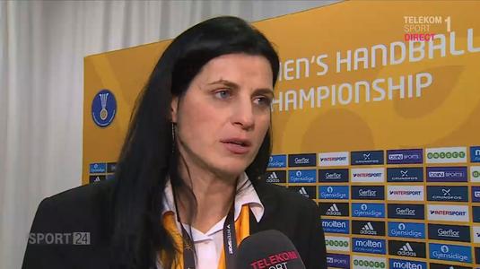 VIDEO | Mai avem o româncă la Mondialul de handbal feminin! Nacisa Lecuşanu e sigură de prezenţa în finală :)