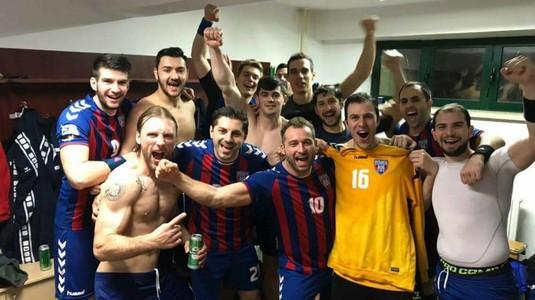 Steaua Bucureşti, liderul Ligii Naţionale la finalul lui 2017. Campioana Dinamo, învinsă de Minaur în ultimul meci