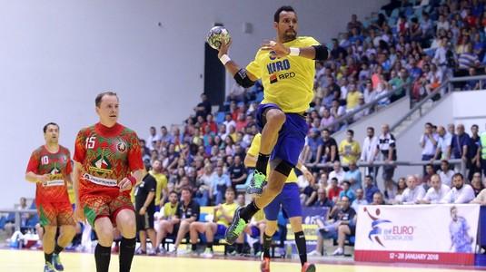 Naţionala de handbal masculin, victorie cu Elveţia într-un meci amical