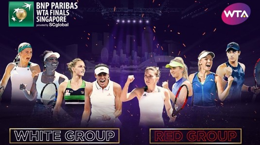 Simona Halep la Turneul Campioanelor 2017! Cele două grupe, programul meciurilor şi rezultatele