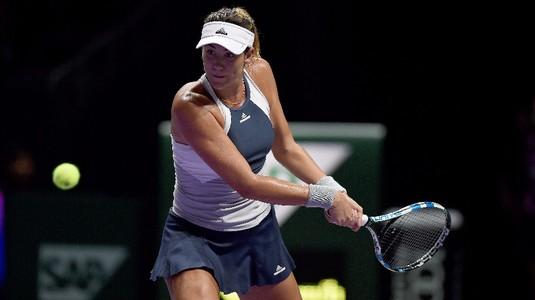 Garbine Muguruza a învins-o pe Jelena Ostapenko, în Grupa Albă de la Turneul Campioanelor
