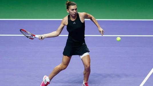 """Cu ce s-a comparat Simona Halep înaintea debutului de la Turneul Campioanelor: """"Încep încet, apoi merg repede"""""""