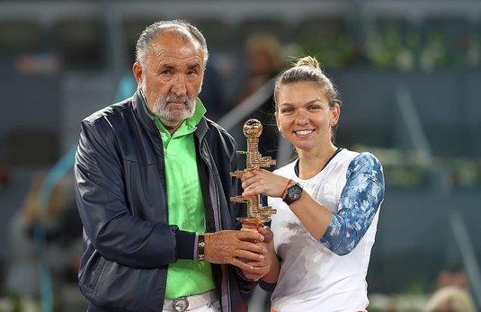 """""""Mi-a zis să renunţ la Roland Garros!"""" Dialogul neştiut dintre Halep şi Ion Ţiriac"""