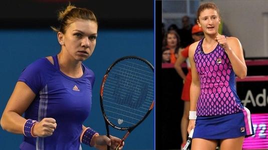 Irina Begu şi Simona Halep s-au calificat în sferturi la proba de dublu de la Shenzhen