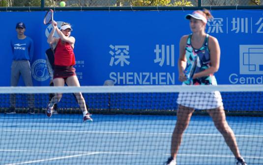 Simona Halep şi Irina Begu şi-au aflat adversarele din finala probei de dublu de la Shenzhen Open