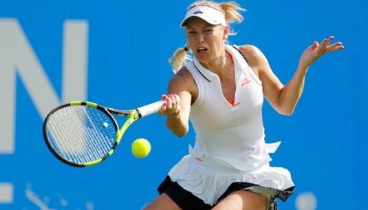 Caroline Wozniacki şi Julia Goerges, cu câte două victorii într-o zi, s-au calificat în finala turneului de la Auckland