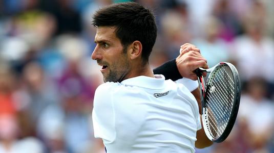 Victorie clară pentru Novak Djokovici în primul meci după accidentare