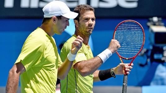Victorie importantă pentru Tecău şi Rojer. S-au calificat în semifinale la Sydney!