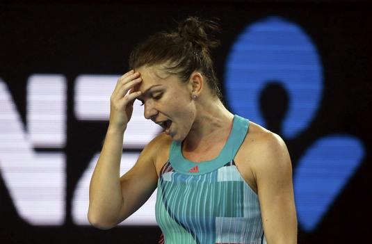 """Prima reacţie a Simonei Halep după calificarea în turul 2 al AO: """"Am fost puţin speriată!"""""""