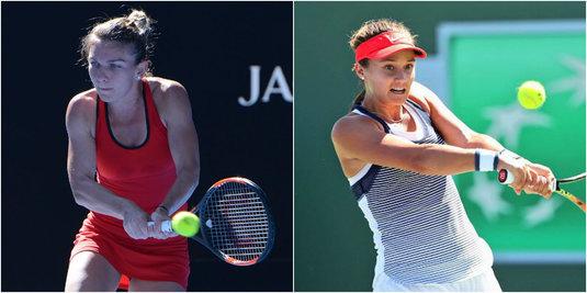 Simona Halep Vs Lauren Davis în turul 3 de la Australian Open, de la 02:00. Liderul WTA întâlneşte cea mai scundă jucătoare din TOP 100
