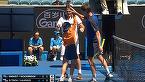 VIDEO | Momente inedite la Australian Open. Un copil de mingi a făcut spectacol în timpul unui meci