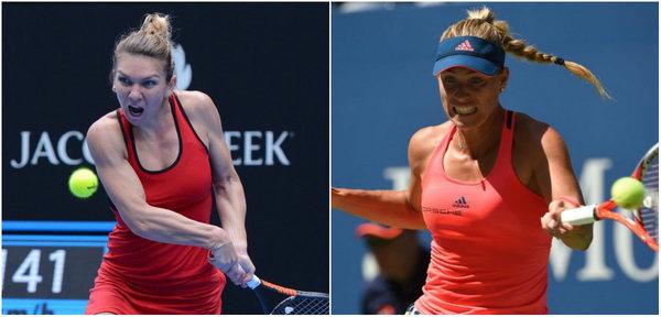 LIVE | Simona Halep - Angelique Kerber, în semifinalele Australian Open, joi, după 07:00. Egalitate în întâlnirile directe, dar Halep are avantaj pe hard