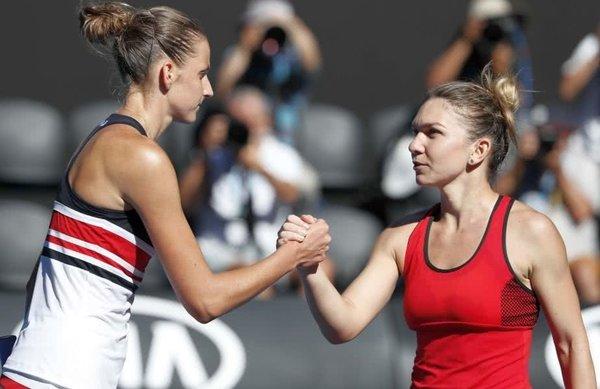 """Pliskova nu crede că Halep va câştiga Australian Open. Pe cine mizează. """"Ştiţi însă ce s-a întâmplat ultima dată când mi-am pariat casa!"""""""
