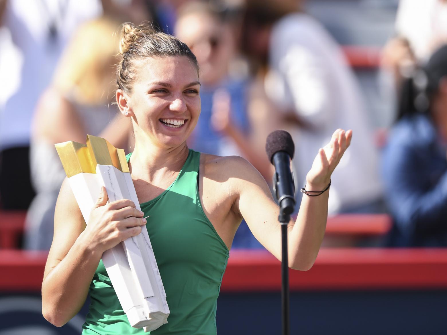 Americanii, la picioarele Simonei Halep. Românca le-a surclasat pe Serena Williams, Wozniacki, Şarapova sau Kerber