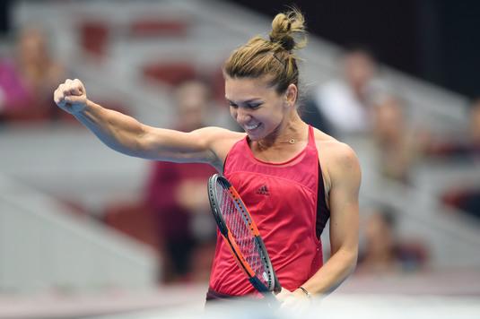 Simona Halep, prima reacţie după victoria cu Duan. De ce a pierdut primul set şi care este principalul său gând