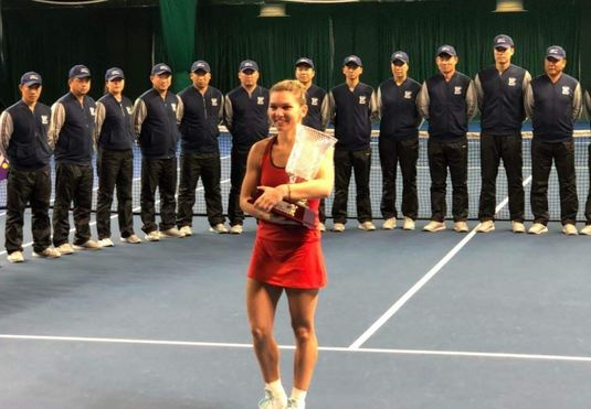 """Prima reacţie a Simonei Halep, după ce a câştigat turneul de la Shenzhen: """"Este visul meu, dar e prea mult"""""""