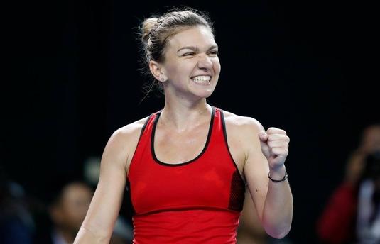Simona Halep - Eugenie Bouchard se joacă joi, după ora 10:00. Sorana Cîrstea şi Ana Bogdan joacă în prima sesiune, la ora 02:00