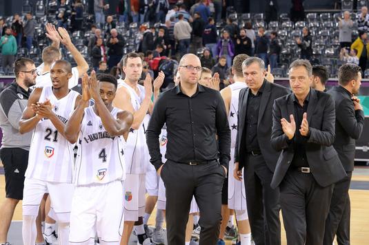 U BT Cluj, prima înfrângere în grupele FIBA Europe Cup la baschet masculin