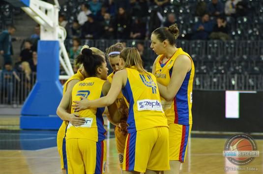 România - Slovenia, scor 59-80, în primul meci din preliminariile CE2019 la baschet feminin