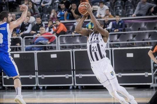 U BT Cluj, a doua victorie în faza a doua a grupelor FIBA Europe Cup la baschet masculin