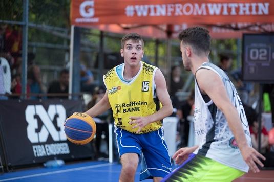 Performanţă fantastică pentru ţara noastră I Un român e cel mai bun junior din lume la baschet 3x3!