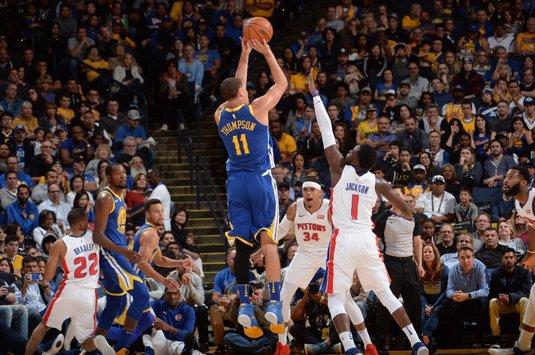 VIDEO | Încă o seară cu surprize uriaşe în NBA! Finalistele Golden State şi Cleveland, învinse clar acasă. Toate rezultatele serii