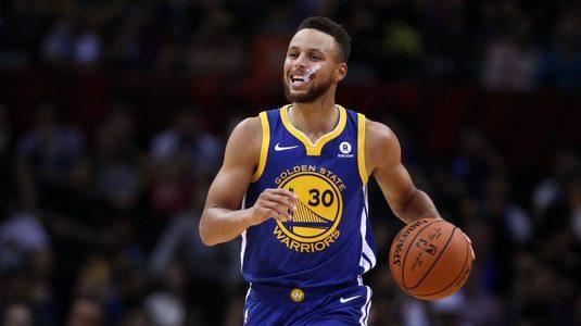 VIDEO | Prestaţie picantă în NBA. Curry a făcut spectacol în Brooklyn