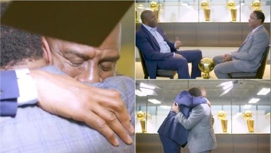 VIDEO | Momente emoţionante în direct la TV. Două legende din NBA, împăcare după 18 ani!