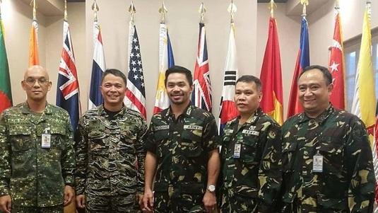 Manny Pacquiao a devenit colonel în armata filipineză