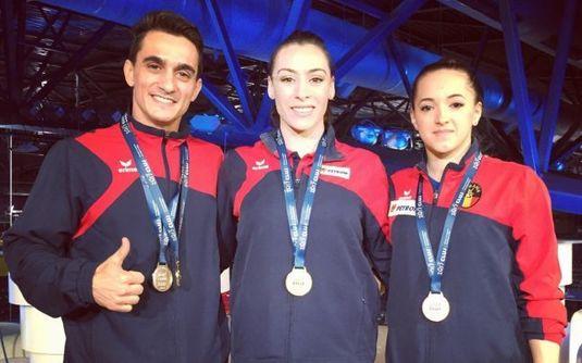 Decizie luată de Klaus Iohannis în privinţa gimnaştilor Cătălina Ponor, Marian Drăgulescu şi Larisa Iordache