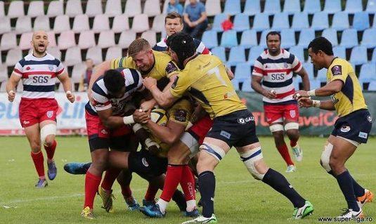 Superliga la rugby I Timişoara primeste vizita liderului Steaua. Meciul va fi de la ora 19:00, în direct pe Telekom Sport 3