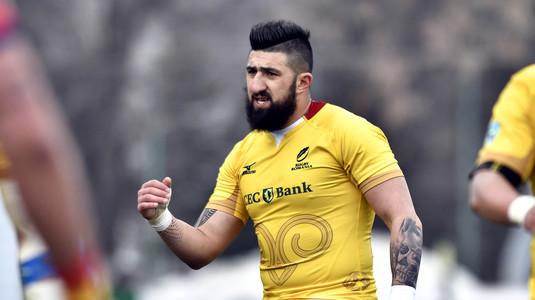 """Un """"american"""" scrie istorie la Bucureşti. A fost desemnat jucătorul etapei în Superliga de rugby"""