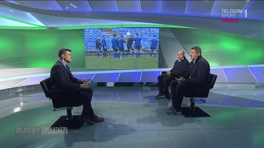 VIDEO | Meciul România-Samoa, prefaţat în emisiunea Rugby Nation! Mihai Macovei şi Andrei Ursache au fost invitaţii lui Florin Căruceru