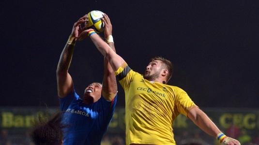 """Victorie importantă pentru România la rugby. """"Stejarii"""" au învins Samoa cu 17-13"""