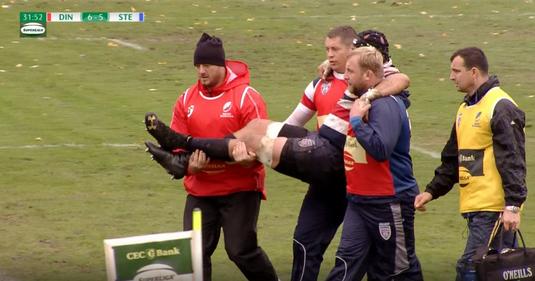 """VIDEO   Căpitanul echipei de rugby a Stelei trage din greu, după accidentarea groaznică suferită în urmă cu două luni: """"Abia aştept să încep să alerg"""""""