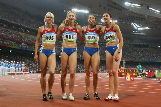 O medaliată olimpică în 2012, depistată pozitiv după reanalizarea eşantioanelor