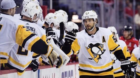 Victorie importantă pentru Pittsburgh Penguins în faţa marii rivale, Washington Capitals